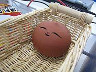 ベヘリットと思われる陶器