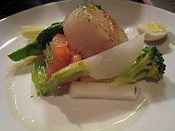 画像:帆立貝のソテーといろいろな野菜のマリネ